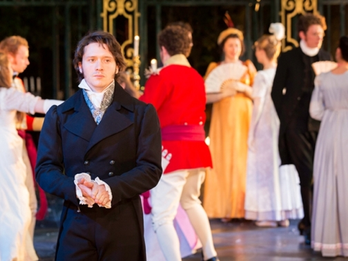 David Oakes as Mr Darcy in Pride and Prejudice