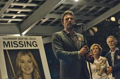 Ben Affleck as Nick Dunne in the film adaptation of Gone Girl