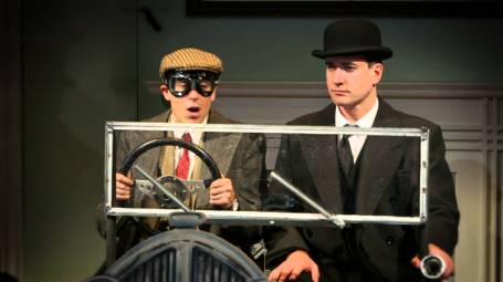Stephen Mangan as Wooster and Matthew Macfadyen as Jeeves in Perfect Nonsense