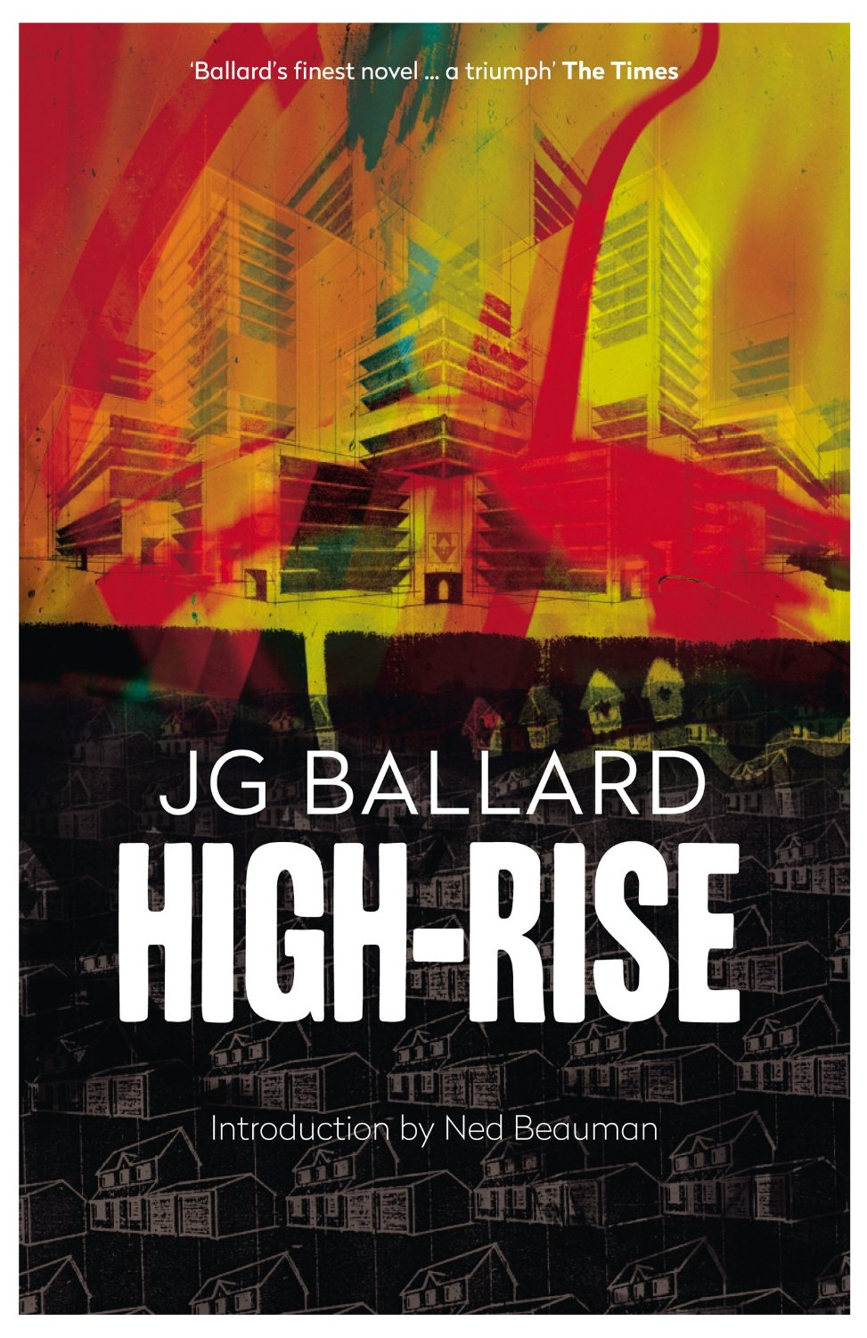 Book Cover Series Review ~ Book review high rise by jg ballard the view from