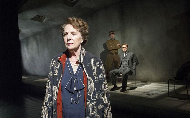 Penelope Wilton and Martin Hutson in Taken at Midnight