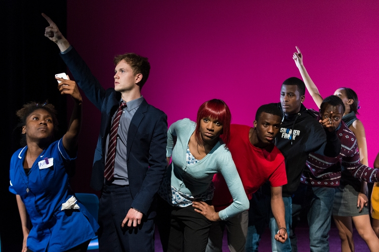 The cast of Dirty Special Things, a Generation Arts production