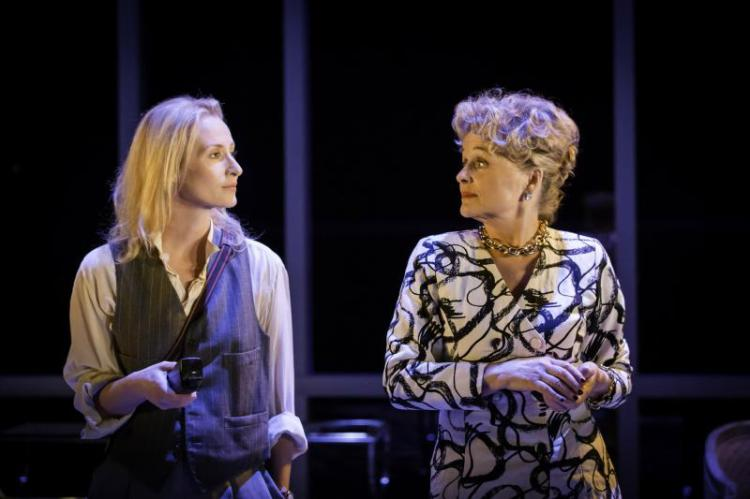 Genevieve O'Reilly and Sinéad Cusack in Splendour at Donmar Warehouse